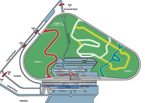 Pocono Raceway Seating Chart