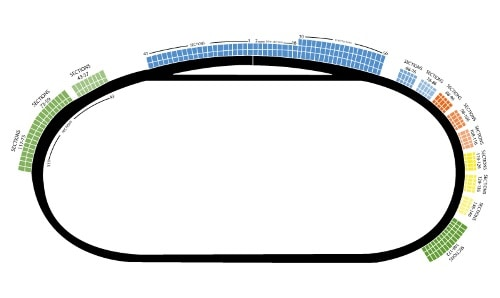 Michigan International Speedway Seating Chart