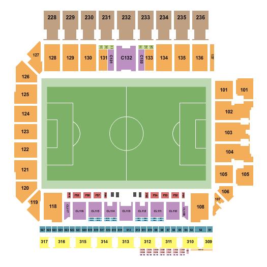 Q2 Stadium Seating Chart